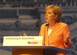 Anglea Merkel. Foto: Landwehr.